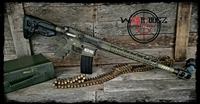 "12.7x42(.50 Cal) Wolf Complete 80% Rifle ""Fury"""