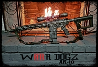 "AR-10 (6.5CM/308 WIN) Complete 80% Rifle - ""The Debellator ParaBellum"""