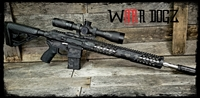 "AR-15 Complete Non-Reciprocating Side Charge 80% Rifle - ""Deadly Nightshade"""