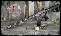 "AR-15 Complete 80% Rifle - ""Deadly Rose"""