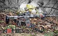 "AR-15 .223/.300 Complete 80% Rifle - ""Hail the Apocalypse"""