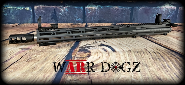 "12.7x42 (.50 Cal) Upper Complete - ""The Big Bad Wolf"""