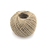 Crafty Hemp Jute Twine String - 1mm, 75 yards - Natural Color
