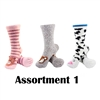 Animal Socks-  Assortment 1 - 3 Pair Value Pack