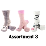 Animal Socks - Assortment 3 - 3 Pair Value Pack