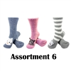Animal Socks - Assortment 6 - 3 Pair Value Pack