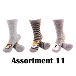 Animal Socks - Assortment 11 - 3 Pair Value Pack