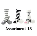 Animal Socks - Assortment 13 - 3 Pair Value Pack