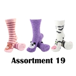 Animal Socks - Assortment 19 - 3 Pair Value Pack