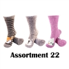 Animal Socks - Assortment 22 - 3 Pair Value Pack
