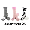 Animal Socks - Assortment 25 - 3 Pair Value Pack