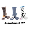 Animal Socks - Assortment 27 - 3 Pair Value Pack