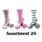 Animal Socks - Assortment 28 - 3 Pair Value Pack