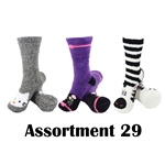 Animal Socks - Assortment 29 - 3 Pair Value Pack
