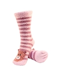 Stripe Pig Socks