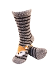 Stripe Fox Socks