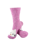 Animal Socks - Pink Hello Kitty Socks