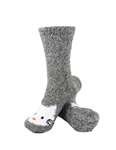 Animal Socks - Grey Hello Kitty Socks