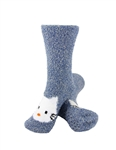 Animal Socks - Blue Hello Kitty Socks