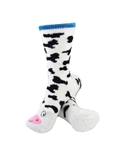Animal Socks - White Cow Socks