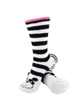 Stripe Bear Socks