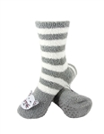 Animal Socks - Grey Cat Socks