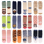Women's Fuzzy Cozy Animal Socks, Single Color Pack