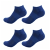 Rayon from Bamboo Navy Blue Ankle Socks