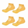 Rayon from Bamboo Yellow Ankle Socks