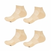 Rayon from Bamboo Tan Ankle Socks