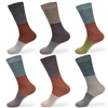 womens colored bamboo crew socks