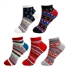 Vintage Style Knitted Colorful Cotton Anklet Socks