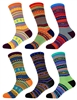Funky Colorful Men's Cotton Socks