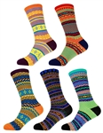 Vintage Women's Colorful Socks