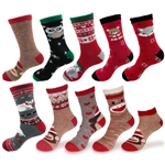 Christmas Double Layer Animal Sock