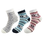 Women's Double Layer Extra Thick Super Soft Warm Fuzzy Comfy Home Socks - Variety of Assortments