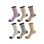Women's Vintage Fall Slouch Cotton Crew Socks