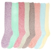 Women's Fuzzy Knee High Socks