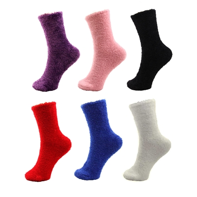 Adult Feather Light Socks - 6 Pair