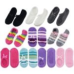 Super Soft Warm Microfiber Travel Sock Footsie Slipper - Anklet - BambooMN