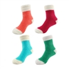 Women's Comfy Featherlight Cuff Socks 4 Pairs