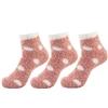 Women's Fuzzy Polka Dot Cuff Socks - 3/9/30 Pairs Value Pack