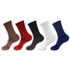 Men's Large Rayon from Bamboo Fiber Supported Socks