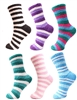 Soft Microfiber Striped Socks
