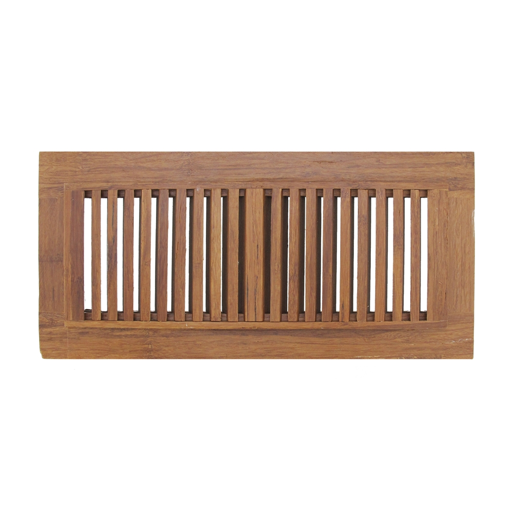 Strand Woven Bamboo Floor Register Vent Indent Cover ...