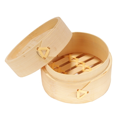 Bamboo Mini Steamer