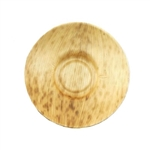 "BambooMN Thermo Pressed Leaf Dish - Shallow 3.3"" x 0.75"""