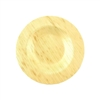 "Bamboo Leaf Round Plates - 3.5""/5.9""/9"""