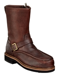 "Thorogood Men's 8"" Moc Side Zip Wellington Boots"