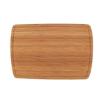 two-toned bamboo cutting board